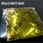Metallic Confetti Shapes